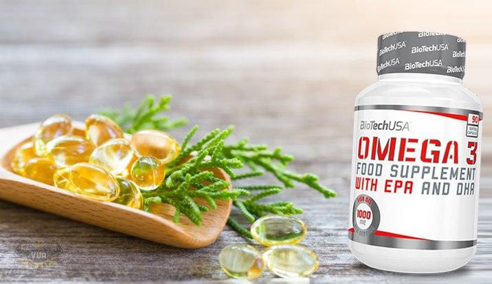 Viên Uống Omega 3 BiotechUSA Xuất Xứ Châu Âu