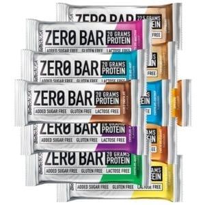 Bánh Protein Zero Bar BiotechUSA Hộp 20 Cái