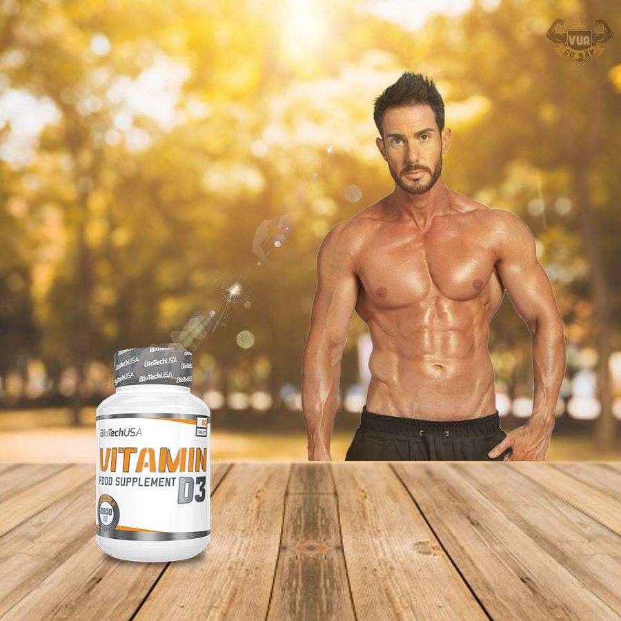 Viên Uống Vitamin D3 BiotechUSA Xuất Xứ Châu Âu