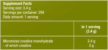 Bổ Sung Năng Lượng CREATINE MONOHYDRATE BiotechUSA