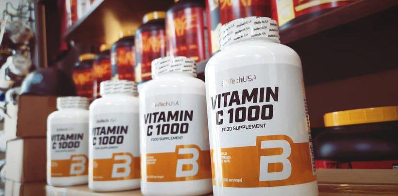 Vitamin C1000 – BioTechUSA ngăn ngừa Covid 19