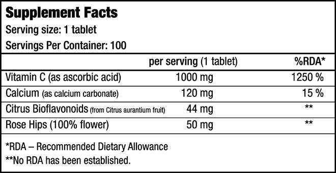 Nutrition Vitamin C1000 – BioTechUSA