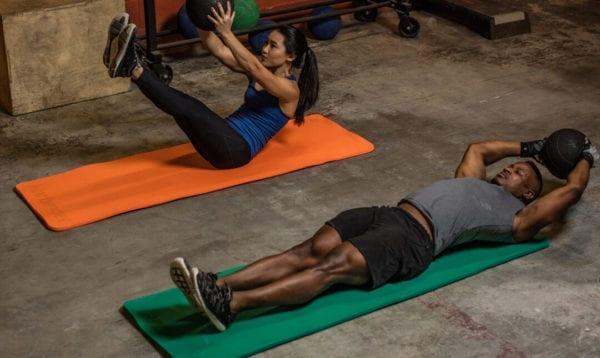 Thảm Tập Gym - Yoga 5/8' Ribber DuraFoam Harbinger-vuacobap.com