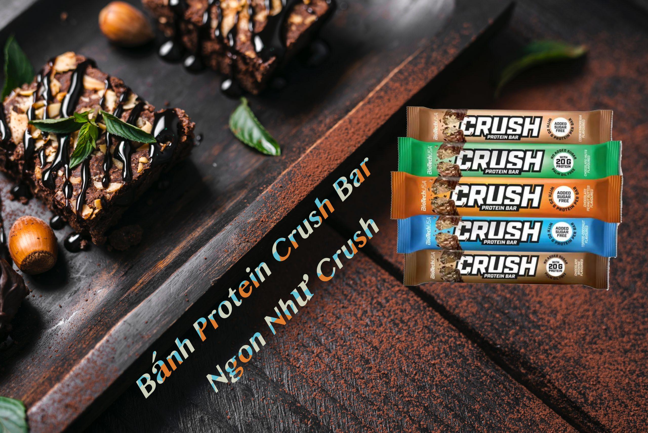 Bánh Protien Crush Bar BioTechUSA