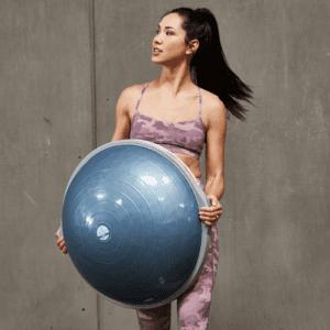 Bóng Tập Yoga Gym PRO BALANCE TRAINER BOSU Đường Kính 65cm